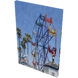 NPB - .Fun Zone Ferris Wheel - Canvas Art