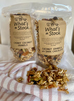 WS - Coconut Granola with Dark Chocolate