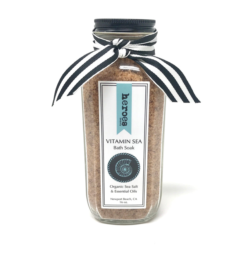 HB Vitamin Sea Organic Bath Soak - Large 16 oz