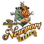 - NPB Tee -  The Islands of Newport Beach T Shirt in White, by Rick Rietveld