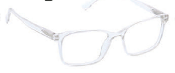 D ・Peepers Reader Glasses - Hans (clear)