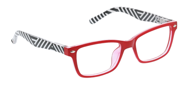 D ・Peepers Reader Glasses - Zuma/Red Stripe