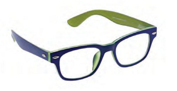 D Peepers- Bellissima navy/green