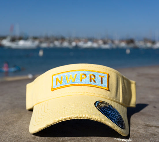 NW NWPRT Visor Canary Yellow