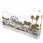 NPB - Balboa Fun Zone - Canvas Art, Newport Beach, Ca