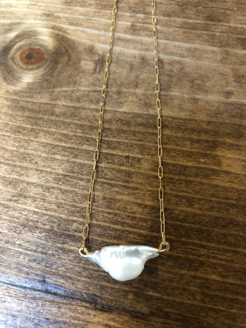 TL-JSS Pearl GF Necklace