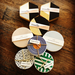 TL-A set of 4 coasters
