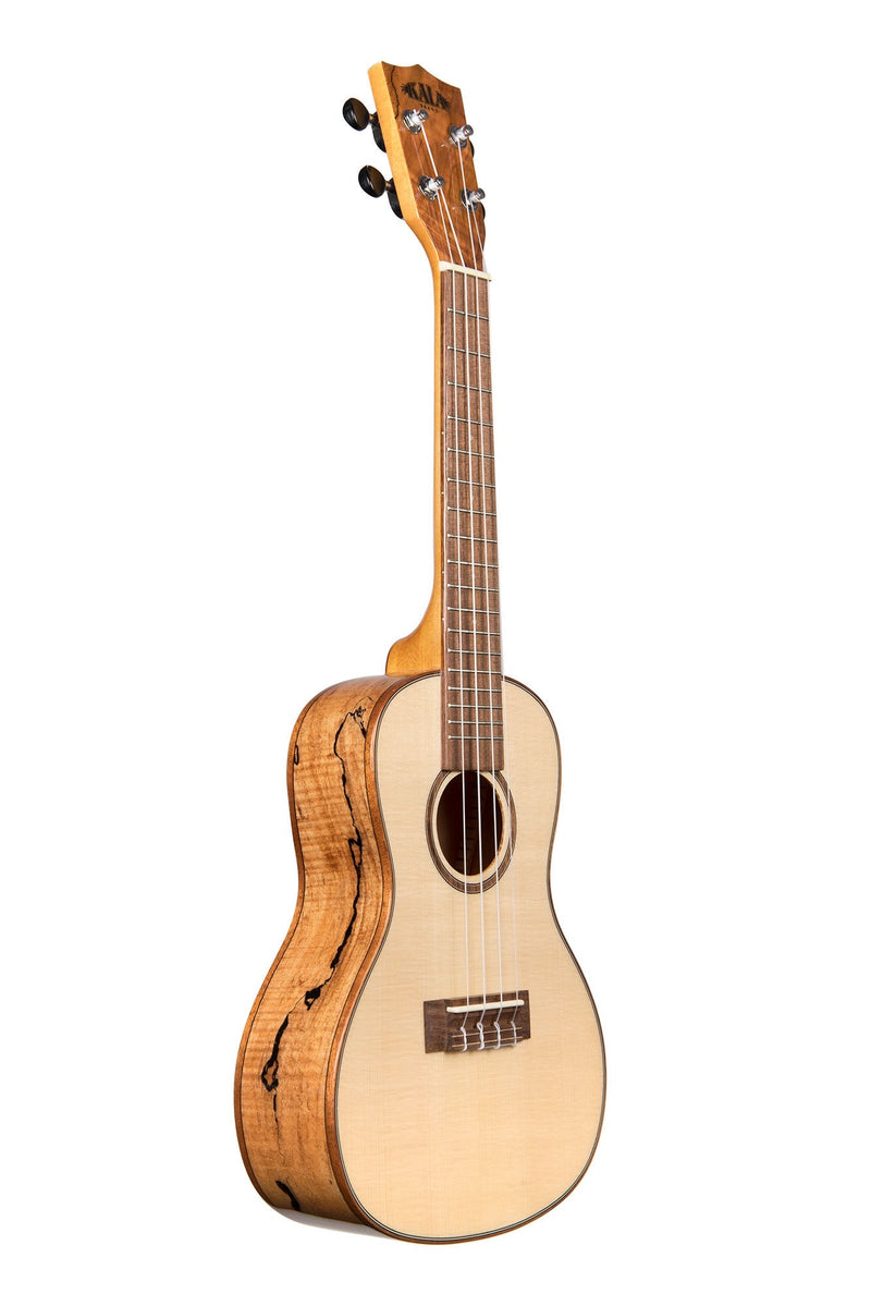 MA - Solid Spruce Flame Maple Concert