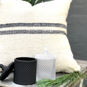 BC Black and Clear decorative candles
