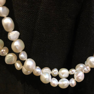 CC- LONG STRAND OF PEARLS 70""