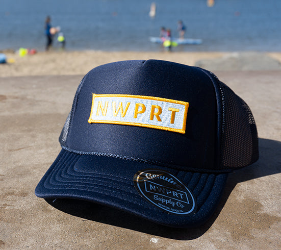 NW NWPRT Foam Trucker Hat Black