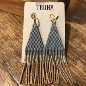TL-JBP Beaded Stone Earring