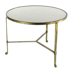 NS Savory Ivory and Stone Coffee Table
