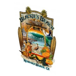 NPB - Blackies Beach Canvas Art 8 X12-Rick Rietveld