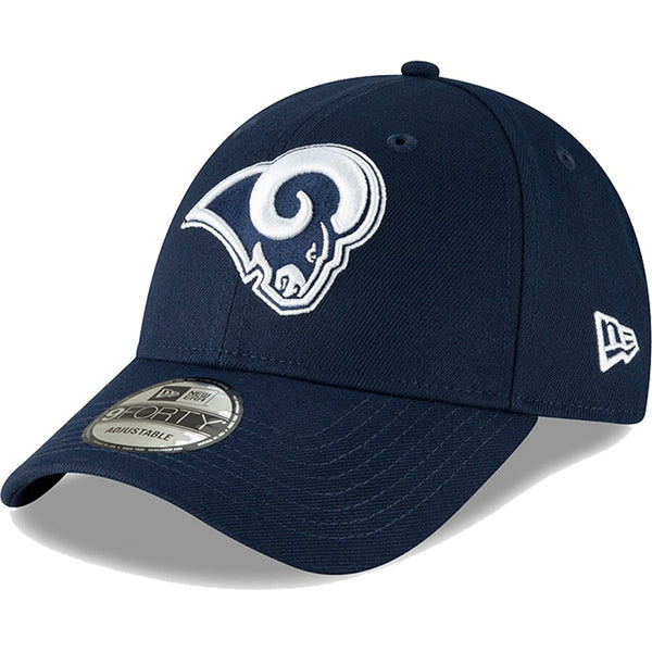 Los Angeles Rams - Adjustable 9FORTY Team Logo New Era NFL Cap