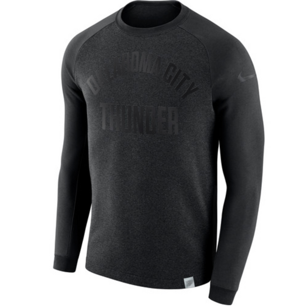 Oklahoma City Thunder -- Nike NBA Crew Sweatshirt