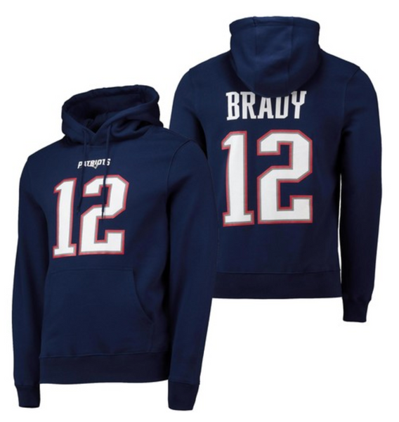 Tom Brady - New England Patriots - Player NFL Hoodie