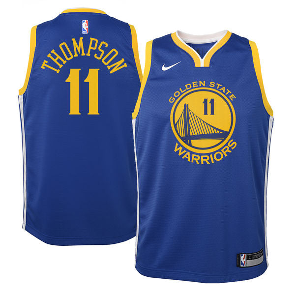 Klay Thompson - Golden State Warriors - Nike NBA Youth Swingman Jersey