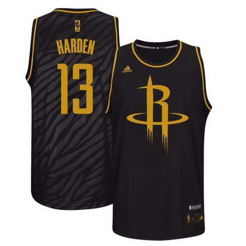 James Harden - Houston Rockets - Precious Metals Swingman Jersey