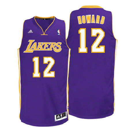 09569079e58 Dwight Howard - Los Angeles Lakers - Away Swingman Jersey