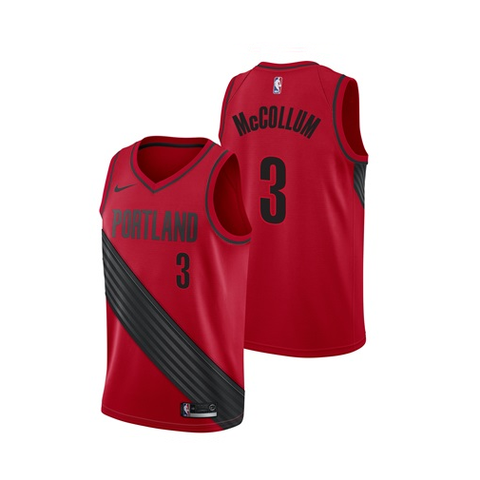 34b233aab CJ McCollum - Portland Trailblazers - Statement Swingman Jersey - Jersey  Kings Sydney