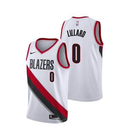 33e9602ba Damian Lillard - Portland Trailblazers - Association Swingman Jersey - Jersey  Kings Sydney