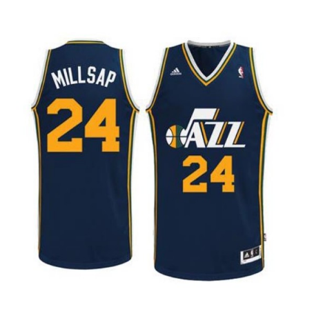 Paul Millsap - Utah Jazz - Road Swingman Jersey
