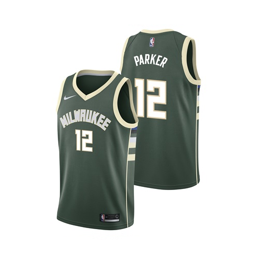 watch ca16e 72957 Jabari Parker - Milwaukee Bucks - Icon Swingman Jersey