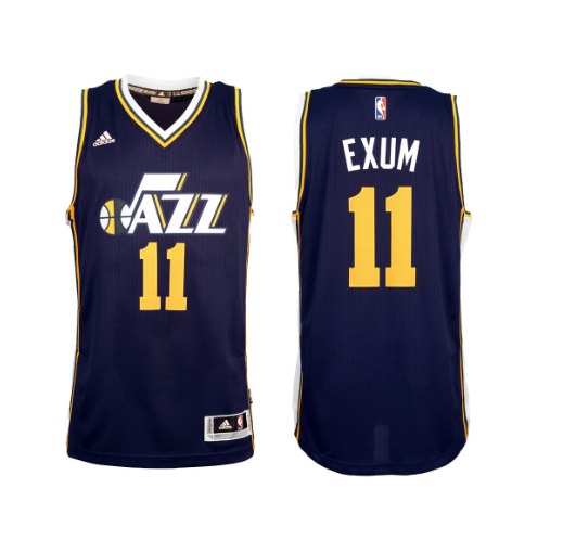 Dante Exum - Utah Jazz - 2015/16 Road Swingman Jersey - Jersey Kings Sydney