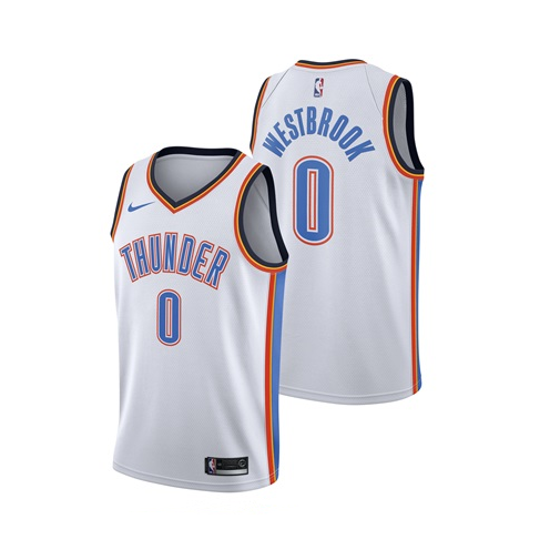 98d831c33e9 Russell Westbrook - Oklahoma City Thunder - Association Swingman Jersey -  SALE