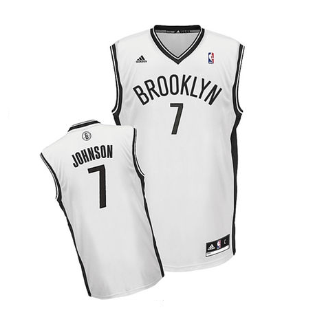 Joe Johnson - Brooklyn Nets - Rep. Home Jersey