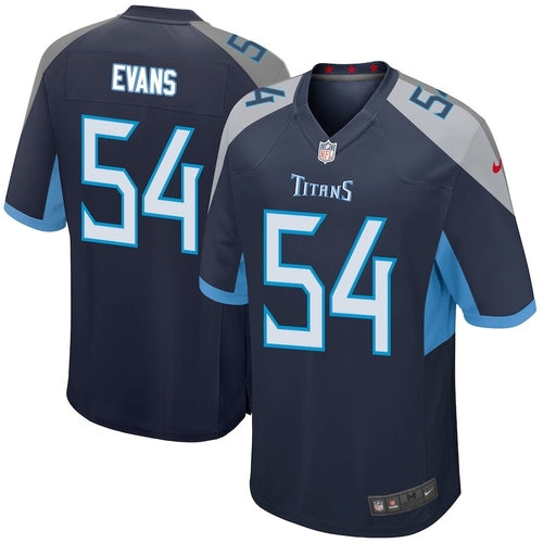 Rashaan Evans - Tennessee Titans - Game NFL Jersey