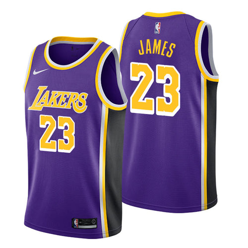 13826774240 LeBron James - Los Angeles Lakers - Statement Swingman Jersey (2018/19