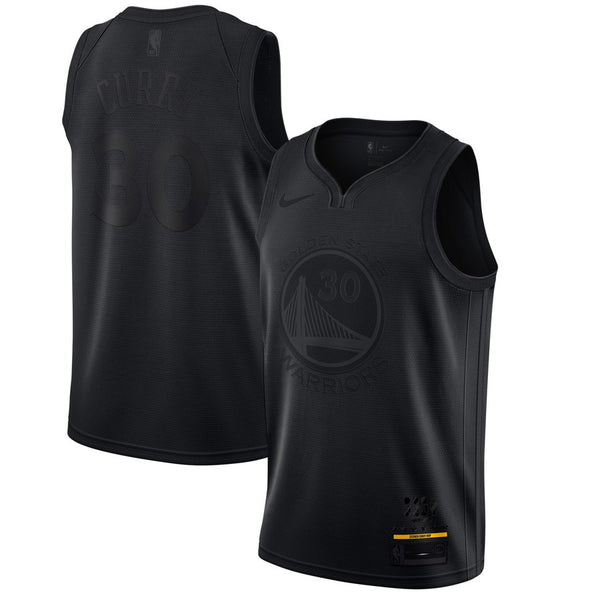 Stephen Curry - Golden State Warriors - Black MVP Swingman Jersey (Limited Edition)
