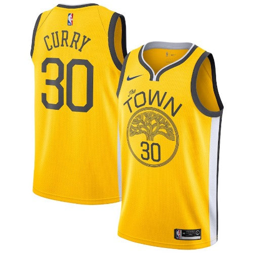 Stephen Curry - Golden State Warriors - 2018/19 Earned Edition Swingman Jersey