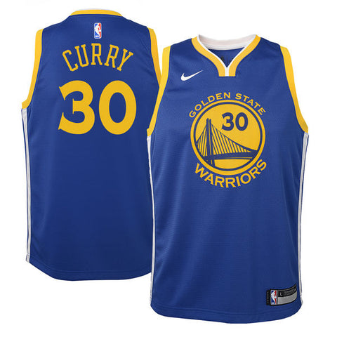bc6d8f1d0 Stephen Curry - Golden State Warriors - Nike NBA Youth Swingman Jersey