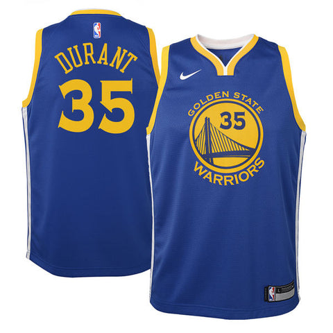 3307a5078 Kevin Durant - Golden State Warriors - Nike NBA Youth Swingman Jersey