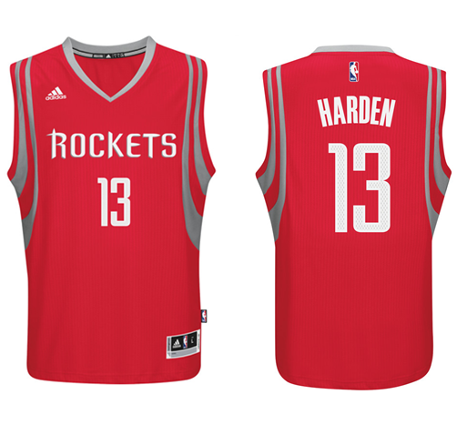 James Harden - Houston Rockets - Adidas Road Swingman Jersey