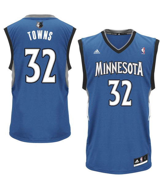 Karl-Anthony Towns - Minnesota Timberwolves - Adidas Rep. Jersey