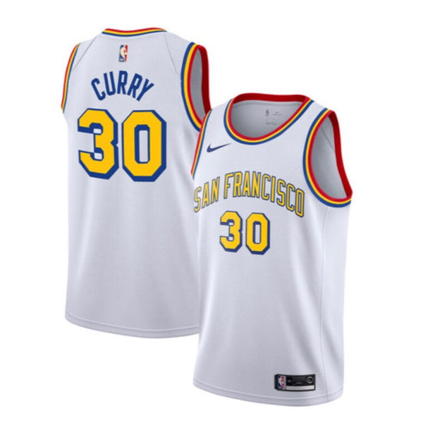 Stephen Curry - Golden State Warriors - 2019/20 Classic Swingman Jersey