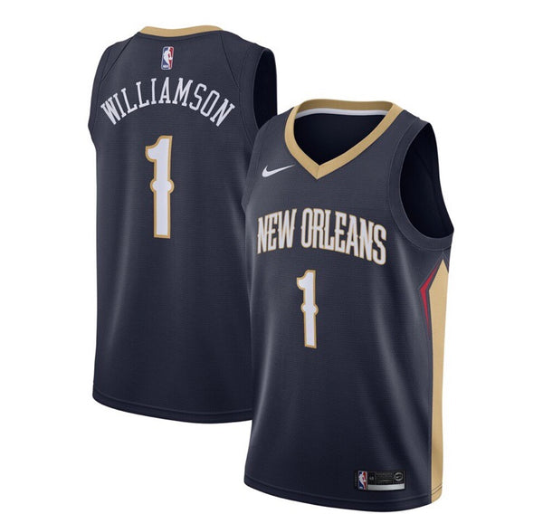 Zion Williamson - New Orleans Pelicans - 2019/20 Icon Swingman Jersey