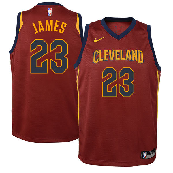 f790a0fb3d4 LeBron James - Cleveland Cavaliers - Nike NBA Youth Swingman Jersey
