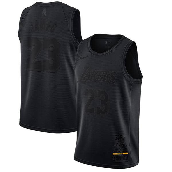 LeBron James - Los Angeles Lakers - Black MVP Swingman Jersey (Limited Edition)