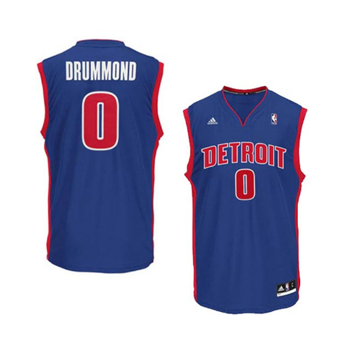 Andre Drummond - Detroit Pistons - Adidas Road Rep. Jersey - Jersey Kings Sydney