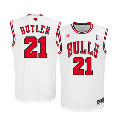 Jimmy Butler - Chicago Bulls - Adidas Rep. Road Jersey