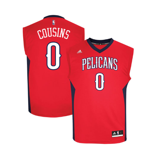 DeMarcus Cousins - New Orleans Pelicans - Adidas Alternate Rep. Jersey - Jersey Kings Sydney