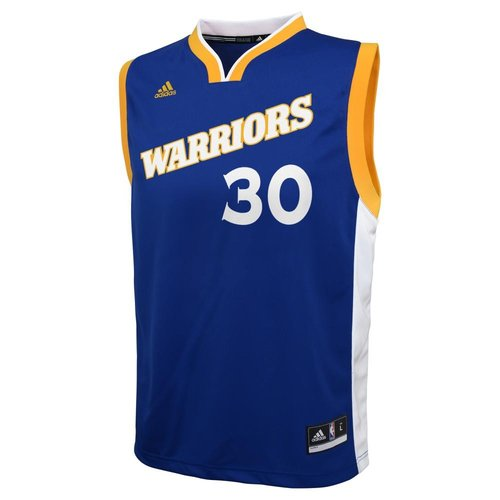 Stephen Curry - Golden State Warriors - Adidas Rep. Stretch Jersey