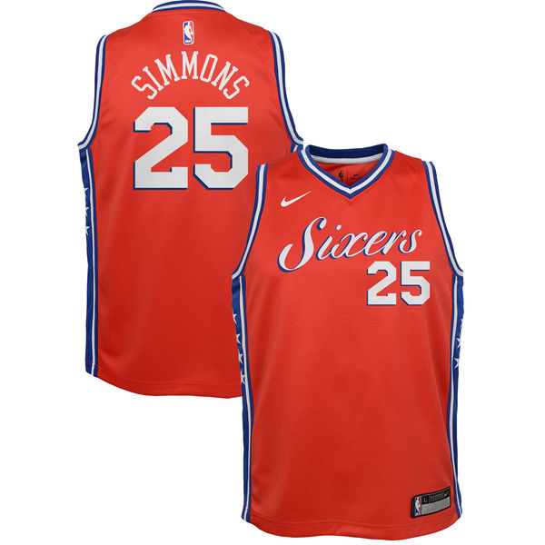 e9ff34b8bbb Ben Simmons - Philadelphia 76ers - Nike NBA Youth Swingman Jersey - Jersey  Kings Sydney