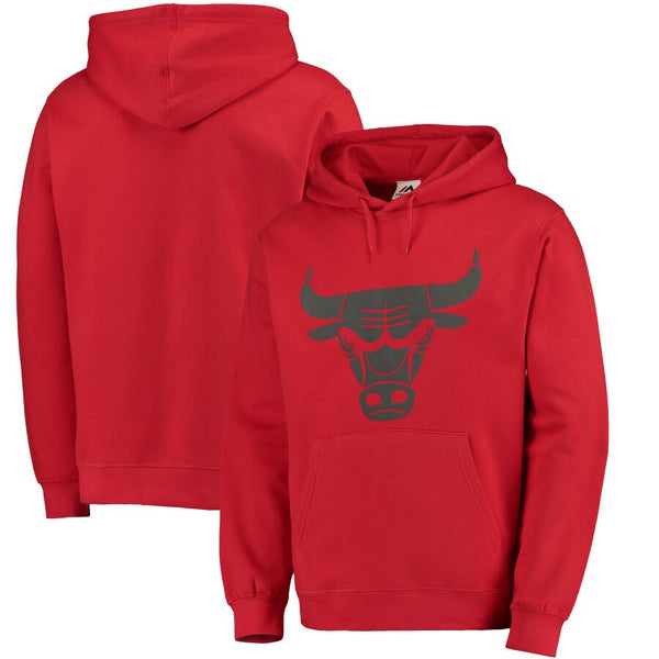Chicago Bulls --  Pullover Team Hoodie (Red) - Jersey Kings Sydney