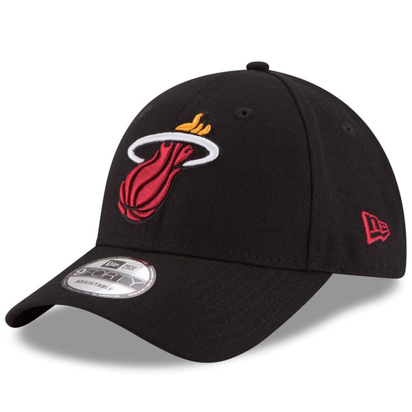 Miami Heat - Adjustable 9FORTY Team Logo New Era NBA Cap